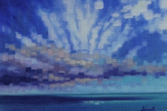 Chisnell Oil painting - mosaic sky