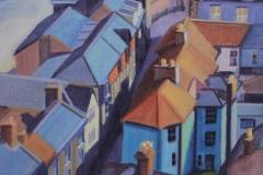 Chisnell painting Tucker St, Cromer.