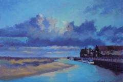 Chisnell oil painting Blakeney
