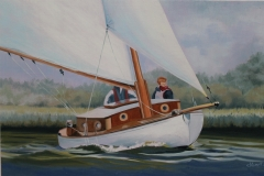 Chisnell Broads yacht commission.