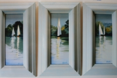 Chisnell miniature yacht paintings