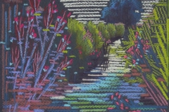 Chisnell pastel drawing Norfolk Broads