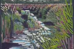 Chisnell pastel drawing of Norfolk Wildlife Trust Hickling